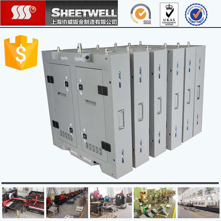 Steel Powder Coated Customized Power Supply Box