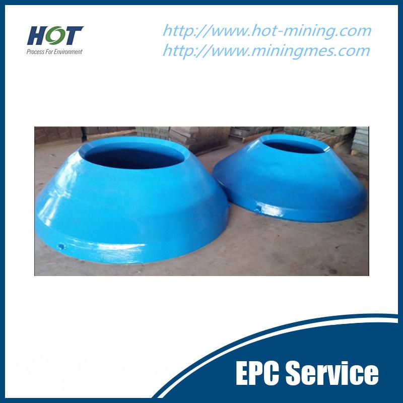 OEM High Manganese Steel Cone Crusher Parts
