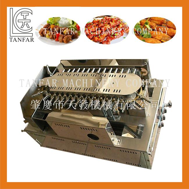Automatic Gas Rolling BBQ Yakitori Grill