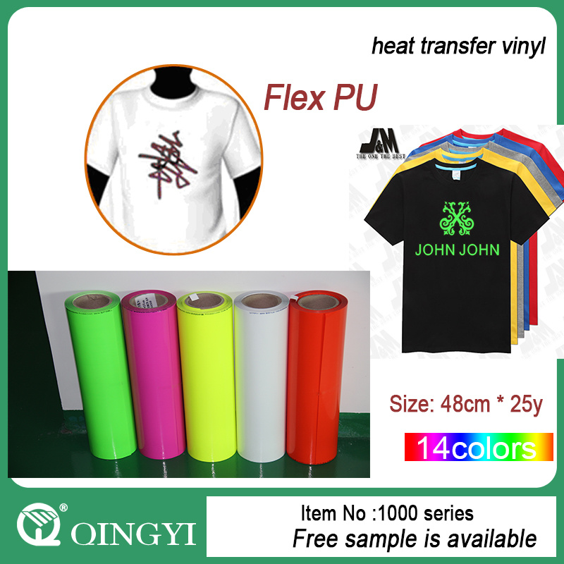 China Hot Sale T -Shirt Heat Transfer Vinyl