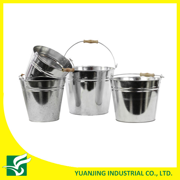 Portable Decorative Party Metal Bucket with Handle