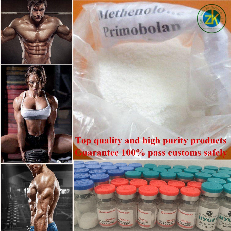 GMP Manufacturer Hot Sale 99.5% Primobolan Methenolone Acetate Steroids