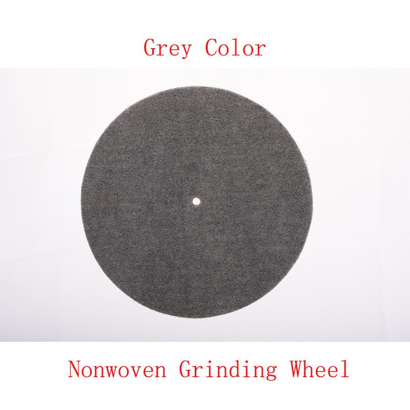 "10""X2"" 6p Non Woven Grinding Disc Green Scourer Pad Flap Disc"