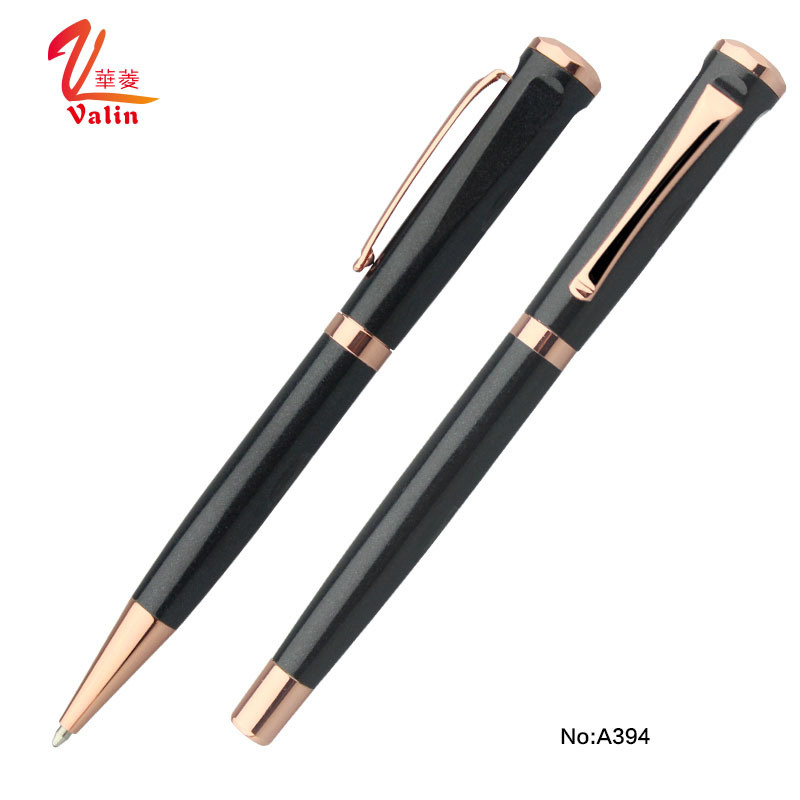 Metal Promo Pens Luxury Ball Point Pen and Roller Pen