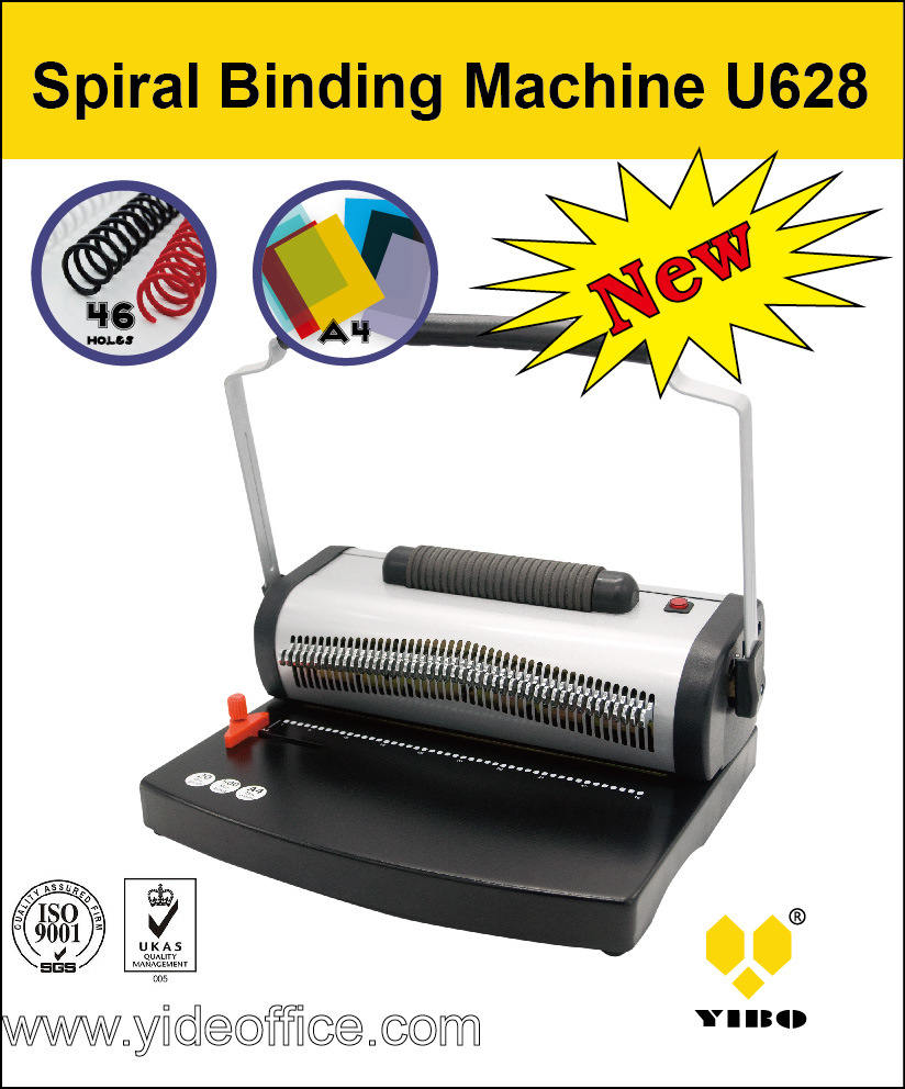 A4 Size Spiral Binding Machine U628
