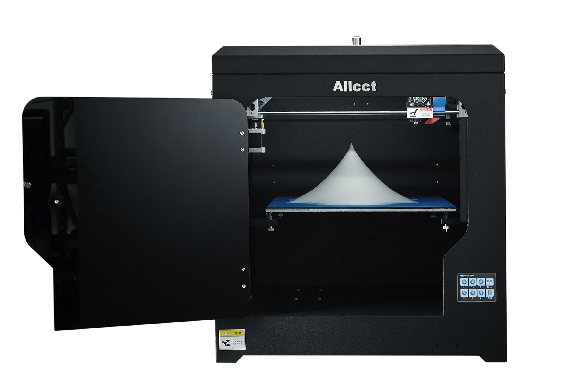 LCD-Touch 300mmx300mmx300mm Large Building Size 0.05mm Precision Fdm 3D Printer