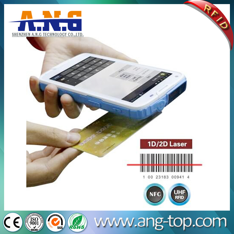5 Inches High Resolution Screen Portable RFID UHF Reader