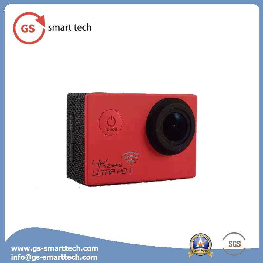 High Performance WiFi Ultra HD 4k Waterproof 60m Digital Action Camera