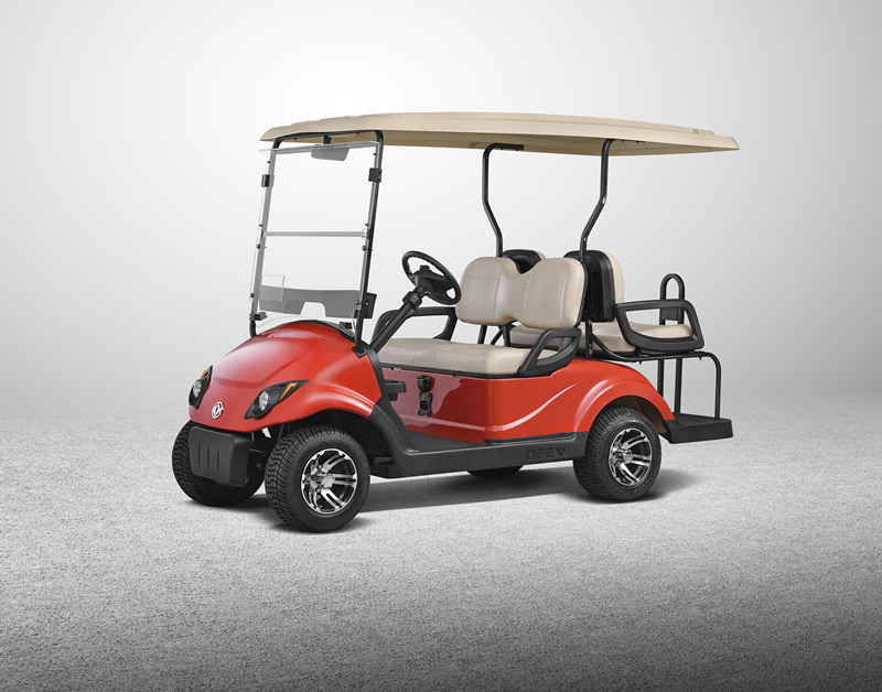 CE Certificated Four People Electric Golf Cart Club Car Whole Sale