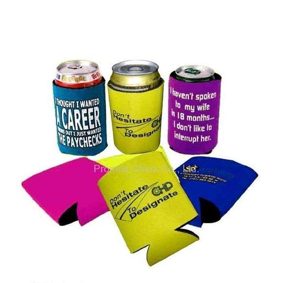 Hot Sale Promotion Neoprene Can Bottle Cooler Holder