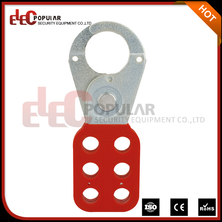 "Steel Lockout Hasp with 1"" Diameter Jaws"