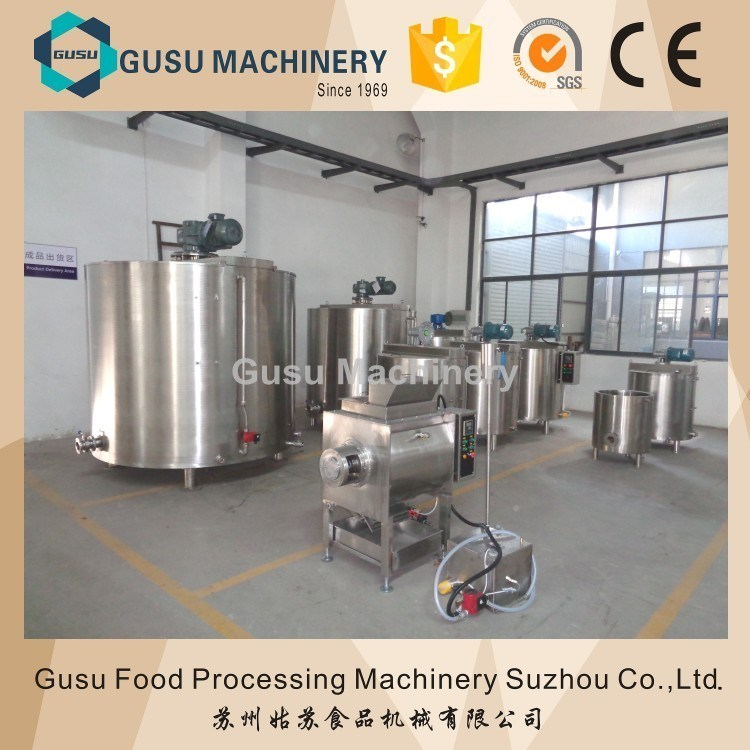 Ce Jacket Heated Water Chocolate Holding Tank Manufacturer