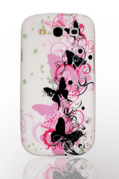 Coulorful Flower Design Mobile Phone Waterprinted TPU Case for Samsung Galaxy S3 I9300