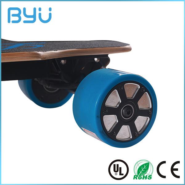 Customized Logo Printing Motor E-Scooter Electric Skateboard
