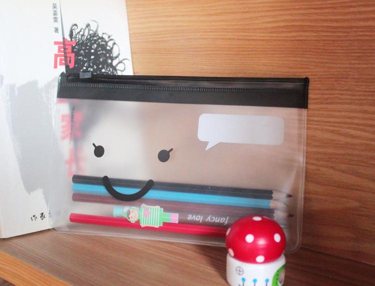 High Quality Cute PVC Plastic Pencil Bag