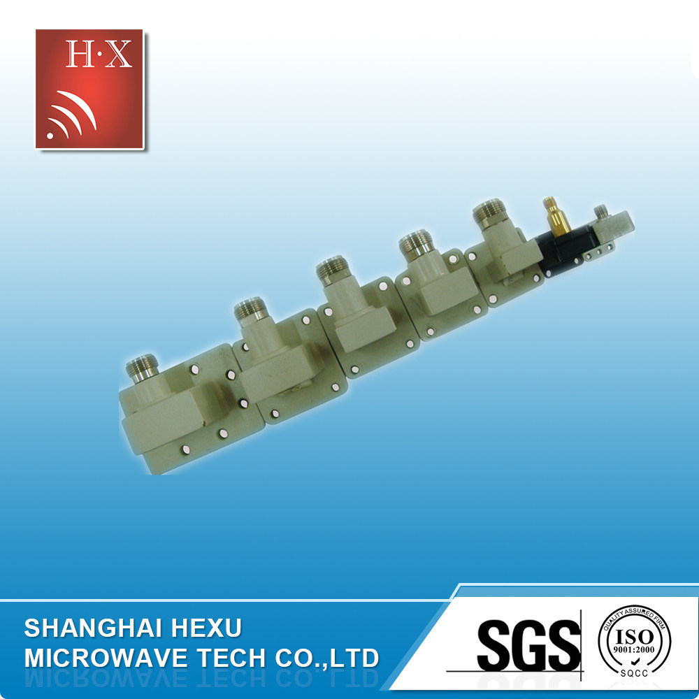 RF Waveguide to Coaxial Adapter From Hexu Microwave