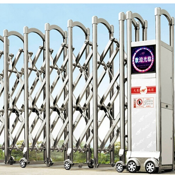 Electric Automatic Stainless Steel Sliding Folding Driveway Gate (HF-1010)