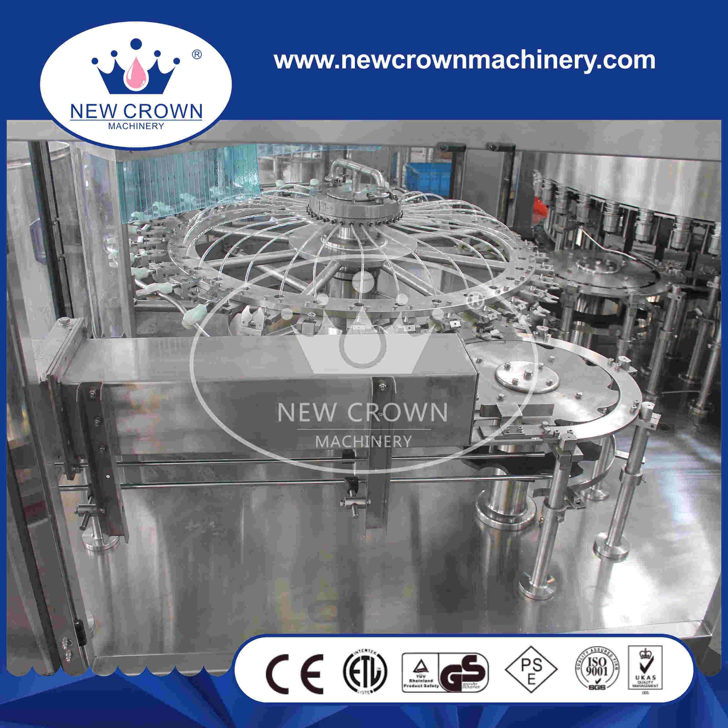 Cgf32-32-10 Monoblock 3 in 1 Washing Filling Capping Machine for Pet Bottle pictures & photos
