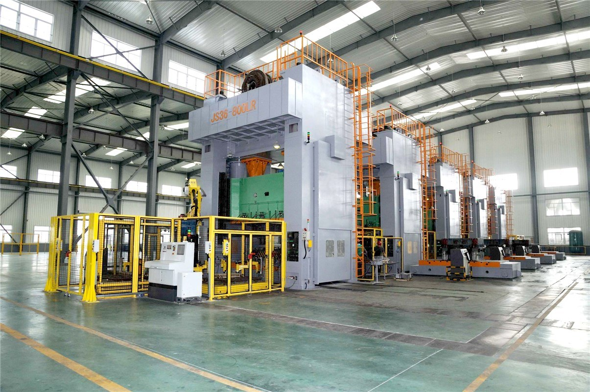Sp2 Series Gantry Type Double Point Press Machine