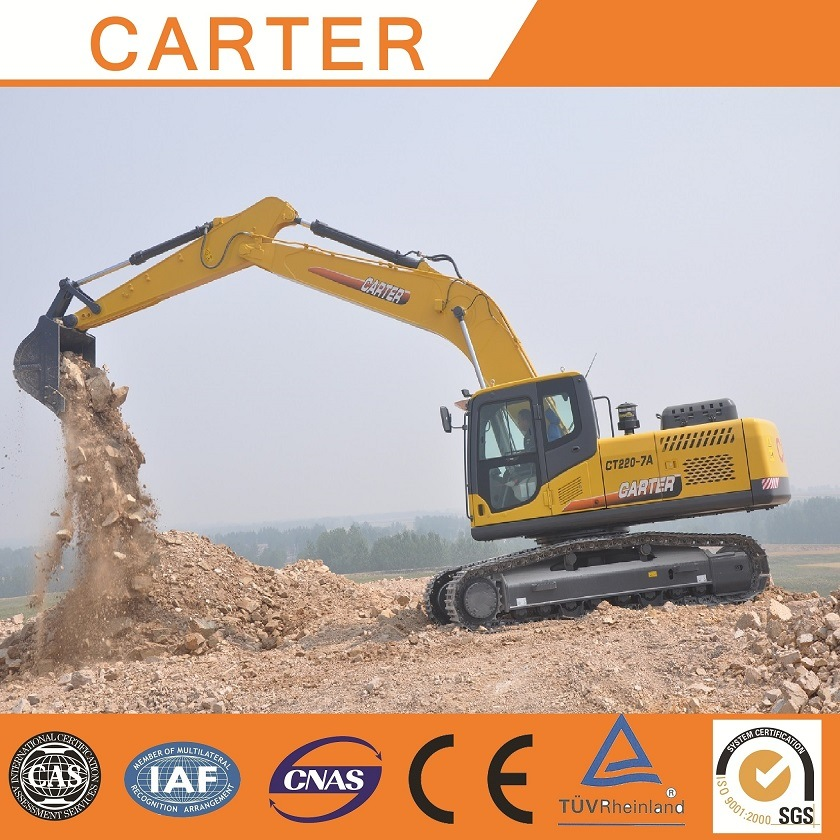 CT220-8c (22T) Multifunction Heavy Duty Crawler Backhoe Excavator