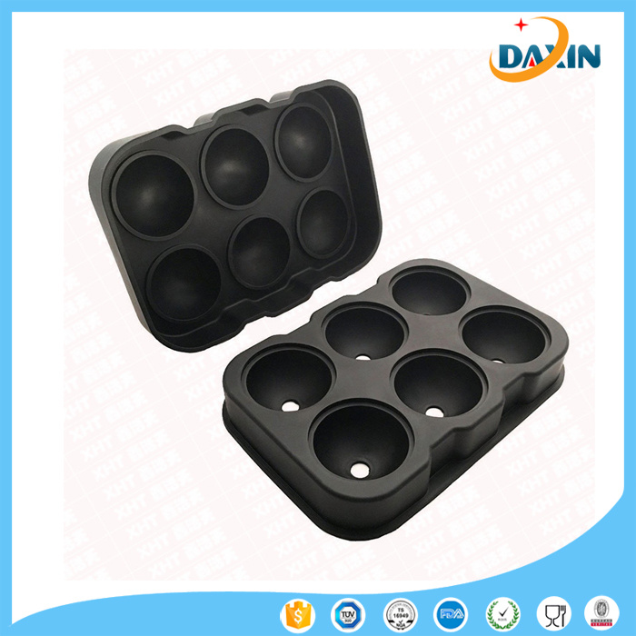 6 Hole Ice Hockey 6 Block Ice Cube Tray Suite