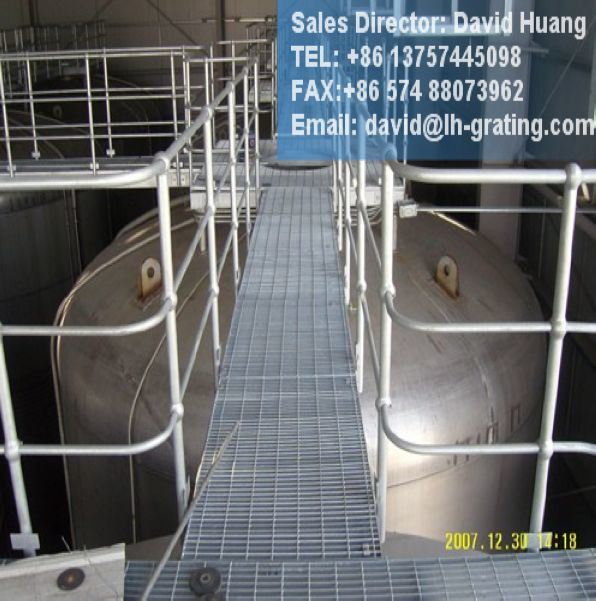 Hot DIP Galvanized Steel Structure Grating for Platform