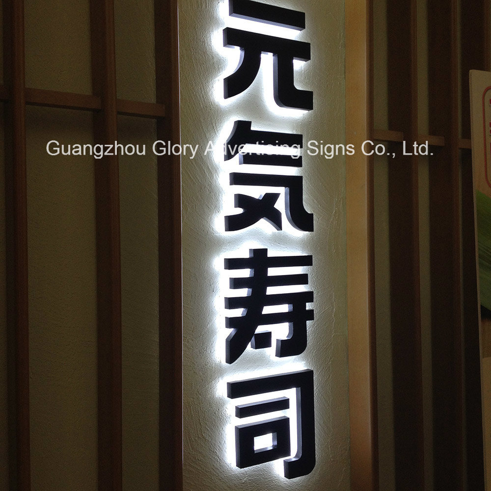 LED Outdoor and Indoor Metal Letter Lighting Sign