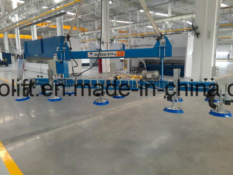 6m Ss Sheet Handling Vacuum Lifter in Horizontal
