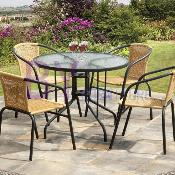 Quality and Quantity Assured Classic Made PE Rattan Furniture Parts