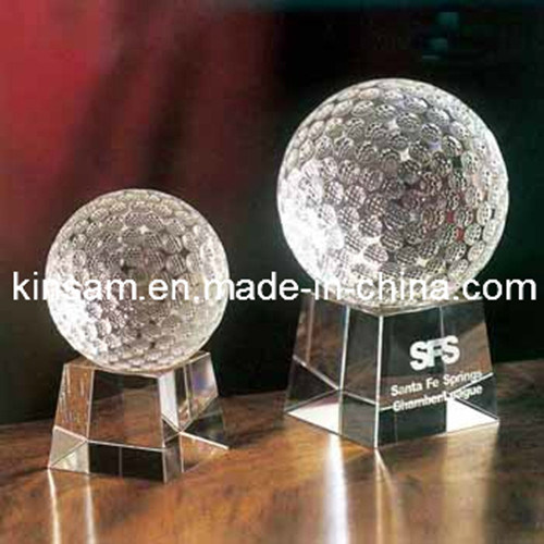 Clear Crystal Glass Ball Craft for Home Deceration
