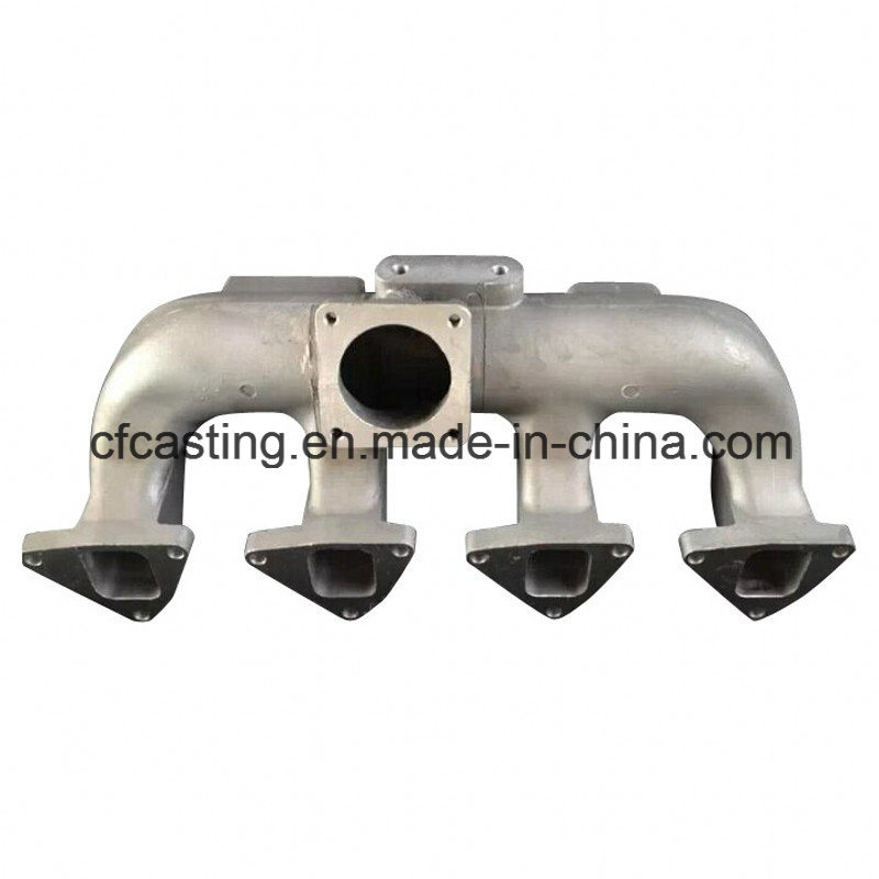 Aluminum Exhaust Pipe Made by Sand Casting