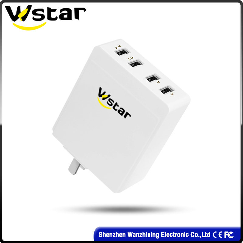 Multifunction USB Travel Charger of 4 Ports USB Charger