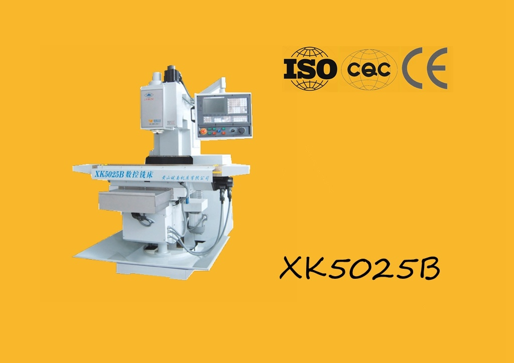 Xk5025b CNC Knee Type Milling Machine