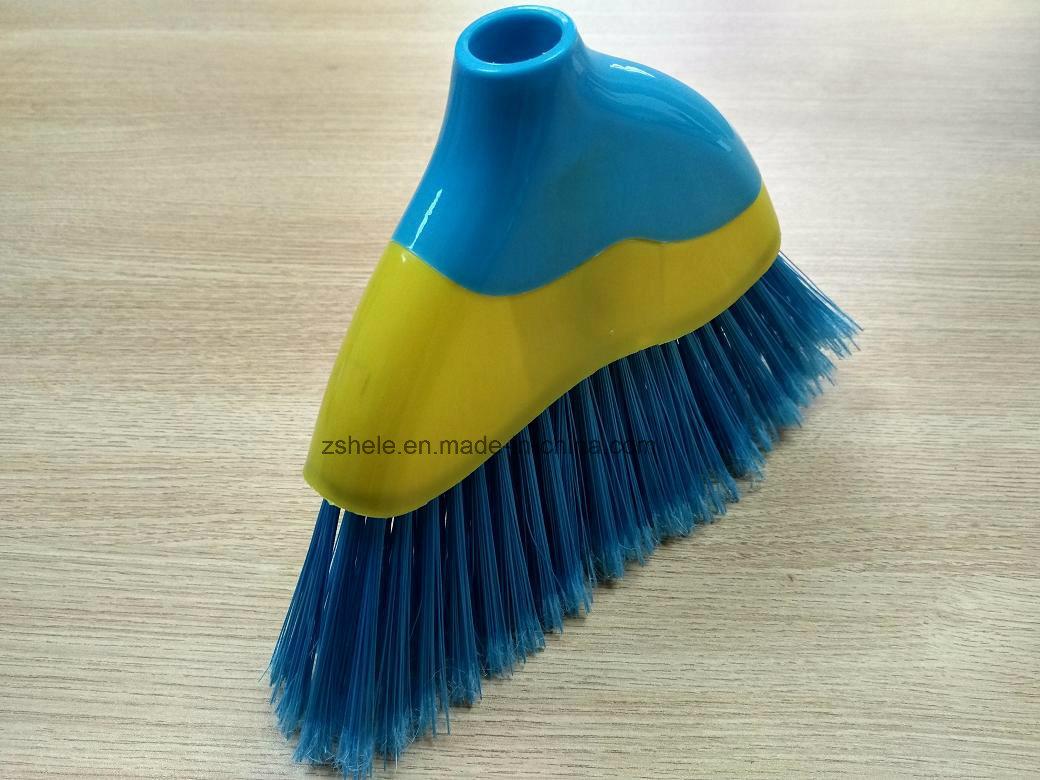 Fashion Design Angle Plastic Broom (HL-A320)