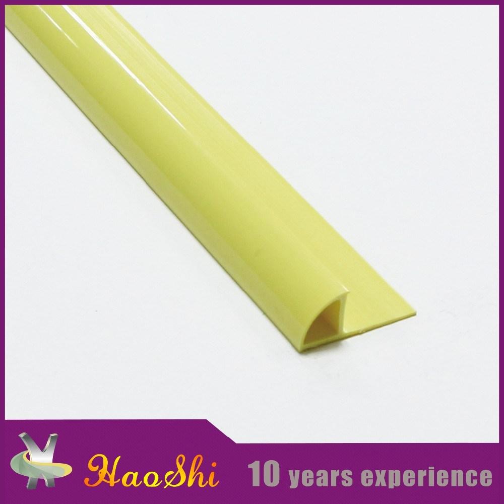 PVC Flexible Plastic Tile Trim for 6-12mm Height