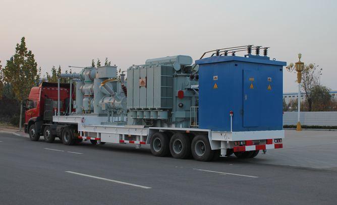 Distribution Emergency Power Transmission 132kv Prefabricated Mobile Substation