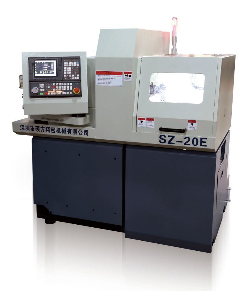 Swiss Type CNC Vertical Cutting Machine