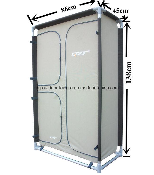 Foldable Clothes Wardrobe Closets Double Door Fabric Storage Organizer 5 Shelves
