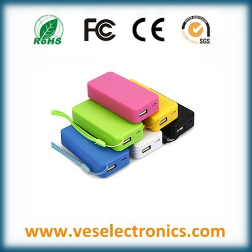 5200mAh Universal Portable Charger Li-ion Battery