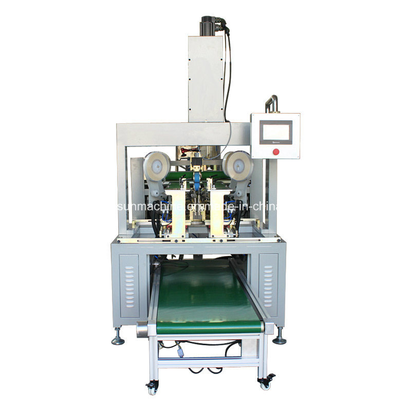 Yx-400 High Speed Automatic Box Four Corners Taping/Pasting Machine