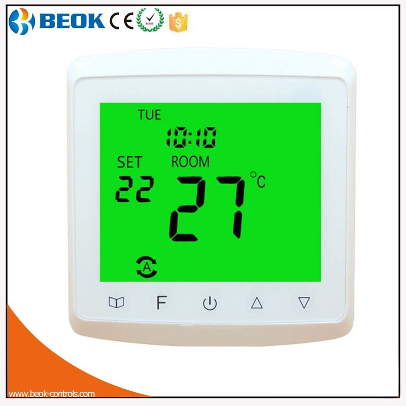 16A Adjustable Temperature Controller Floor Heating Thermostat