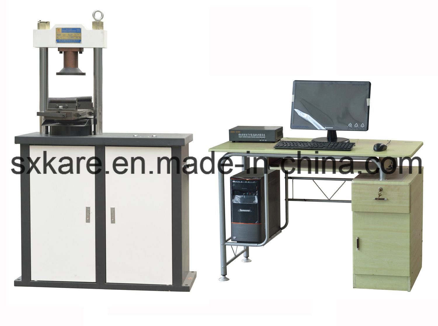 Electro-Hydraulic Servo Constant Loading Rate Compression Testing Machine (YAW-300)