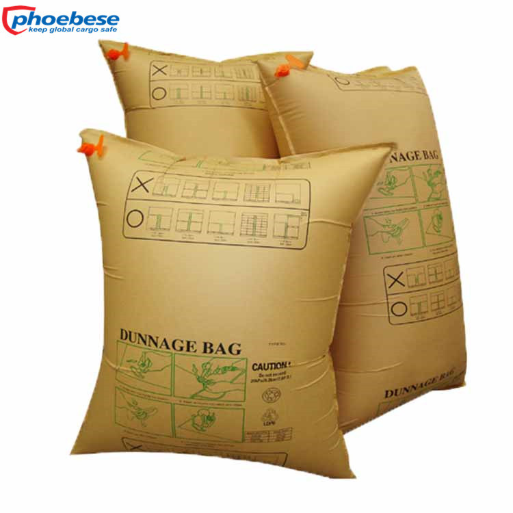 Inflatable Cargo Securing Air Bag Kraft Dunnage for 20FT Container