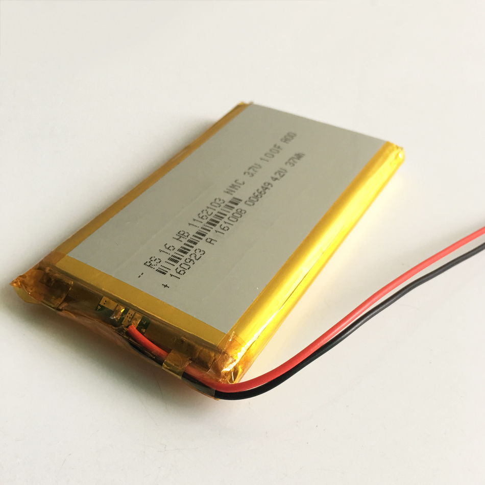 """3.7V 10000mAh Lithium Polymer Rechargeable Battery Li-Po for GPS PSP DVD Power Bank 9"""" 11"""" Pad Tablet PC Laptop Nootbook 1162103"""
