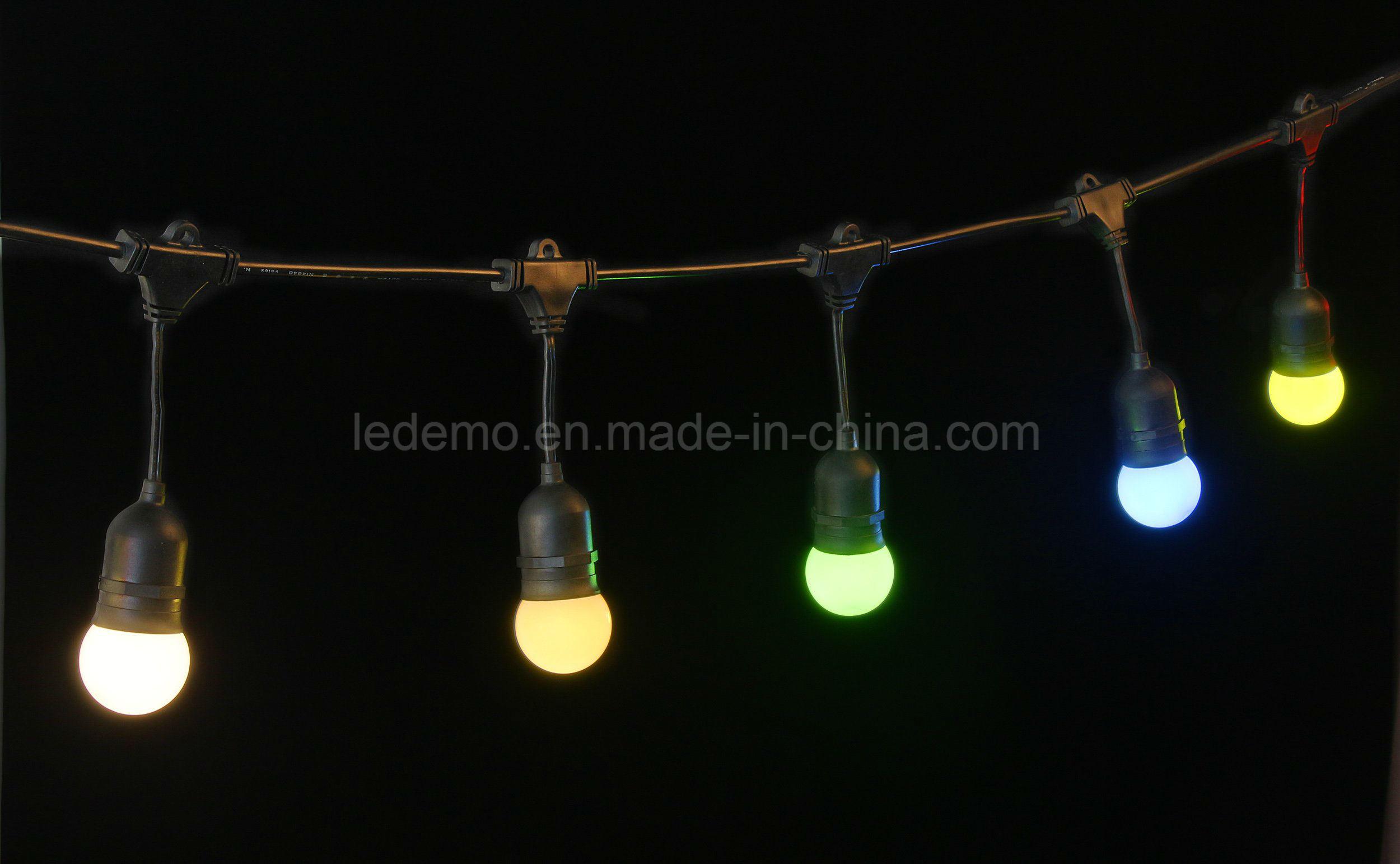LED 10m Cable Christmas E27 Belt Light