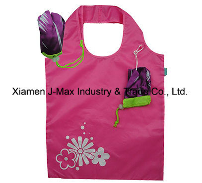 Foldable Gifts Shopper Bag Flowers Tuip Style, Reusable, Lightweight, Tote Bags, Grocery Bags and Handy, Promotion, Accessories & Decoration