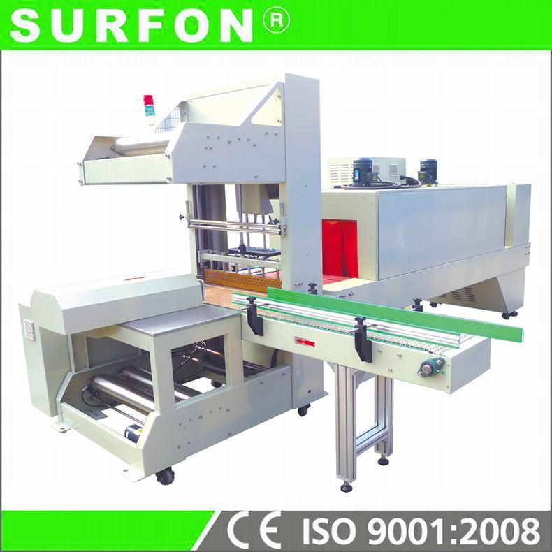 Center-Folded Film Closed Shrink Wrapping Machine