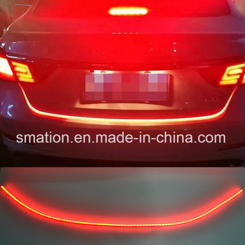 Car LED Rear Tail Box Case Flow LED Strip Turn Signal Brake Tailgate Tail Light