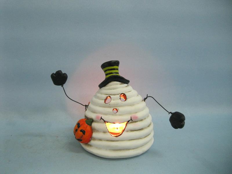 Halloween Pumpkin Ceramic Arts and Crafts (LOE2380-11.5z)
