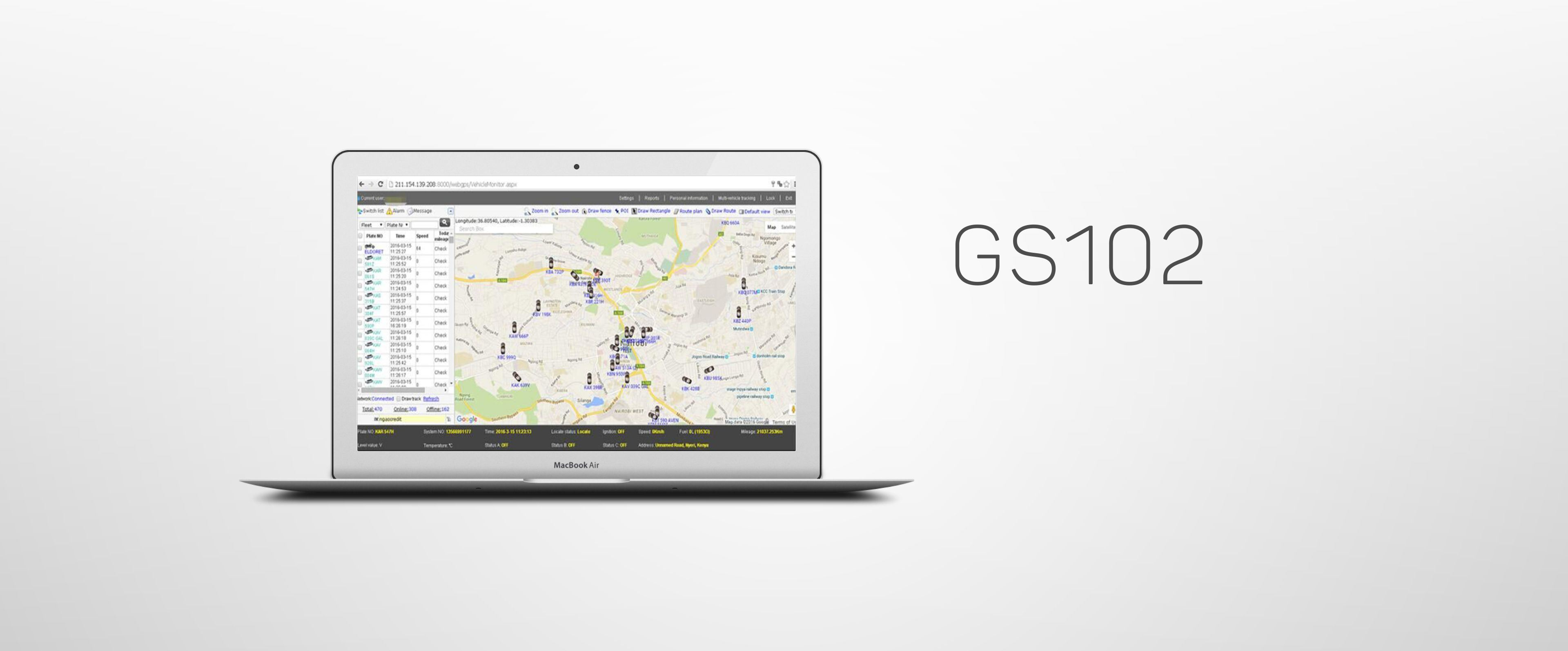 Fleet Management GPS Tracking GPS Software with Cloud Server